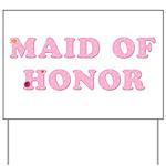 Gerber Maid of Honor Yard Sign