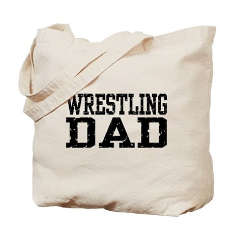 Wrestling Dad Tote Bag