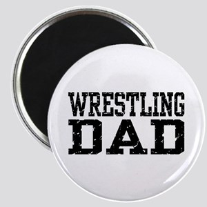 Wrestling Dad Magnet