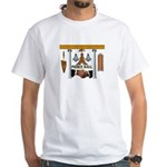 Masonic Prince Hall White T-Shirt