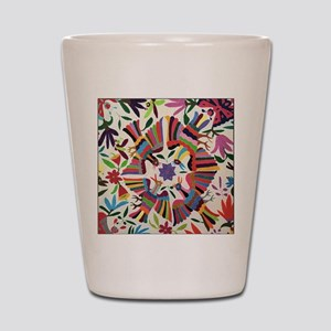Otomi Birds Shot Glass
