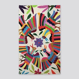 Otomi Birds Area Rug