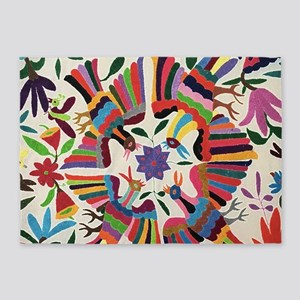 Otomi Birds 5'x7'Area Rug