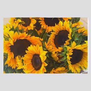 Sunflowers 4' x 6' Rug