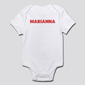 Retro Marianna (Red) Infant Bodysuit