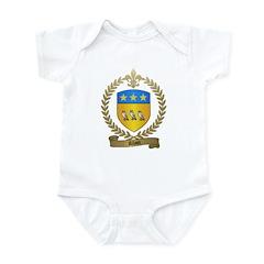 ALLAIN Family Crest Infant Creeper