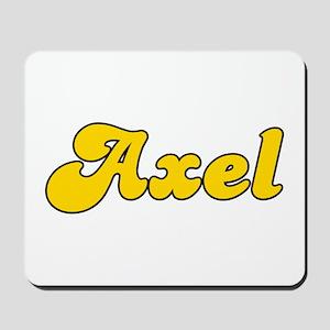 Retro Axel (Gold) Mousepad