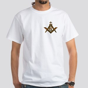 Masonic Anchor White T-Shirt