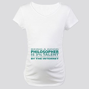 Good Philosopher Maternity T-Shirt