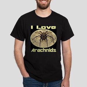 I Love Arachnids Dark T-Shirt