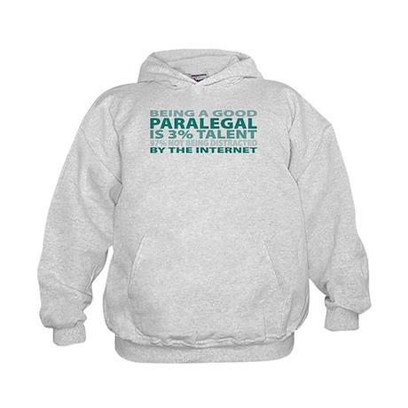 Good Paralegal Kids Hoodie