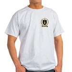 AMIRAULT Family Crest Ash Grey T-Shirt