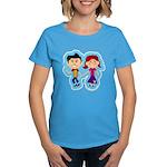 Sock Hop Kids Women's Dark T-Shirt