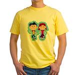 Sock Hop Kids Yellow T-Shirt