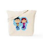 Sock Hop Kids Tote Bag