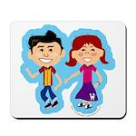 Sock Hop Kids Mousepad
