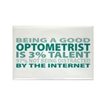 Good Optometrist Rectangle Magnet (10 pack)