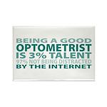 Good Optometrist Rectangle Magnet (100 pack)