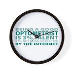 Good Optometrist Wall Clock