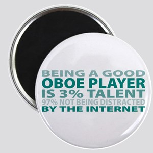 Good Oboe Player Magnet