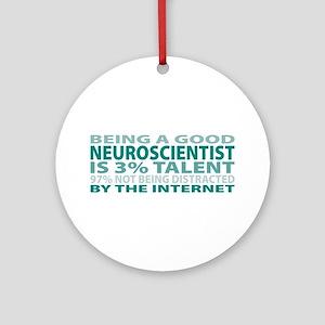 Good Neuroscientist Ornament (Round)