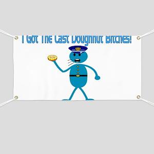 Last Doughnut Banner