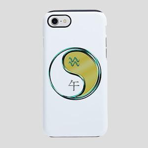 Aquarius & Metal Horse iPhone 8/7 Tough Case