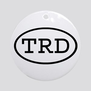TRD Oval Ornament (Round)