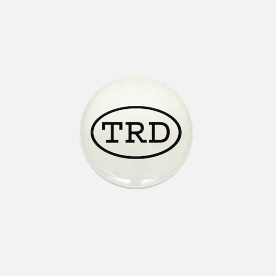 TRD Oval Mini Button