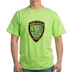 Santa Monica PD Green T-Shirt