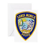 Santa Monica PD Greeting Card