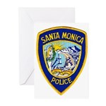 Santa Monica PD Greeting Cards (Pk of 10)