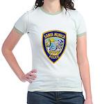 Santa Monica PD Jr. Ringer T-Shirt