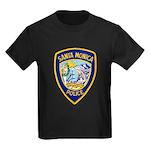 Santa Monica PD Kids Dark T-Shirt