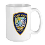 Santa Monica PD Large Mug