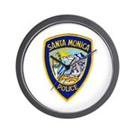 Santa Monica PD Wall Clock