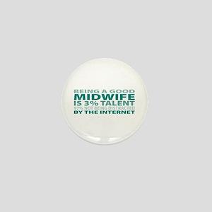Good Midwife Mini Button