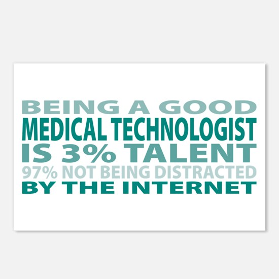 Good Medical Technologist Postcards (Package of 8)