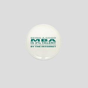 Good MBA Mini Button
