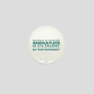 Good Mandolin Player Mini Button