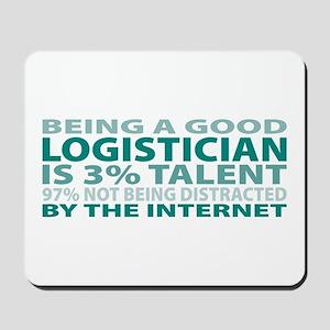 Good Logistician Mousepad