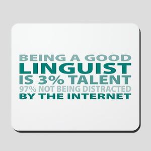 Good Linguist Mousepad