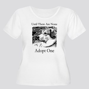 Until There Are None...Adopt Women's Plus Size Sc