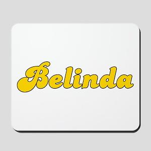 Retro Belinda (Gold) Mousepad