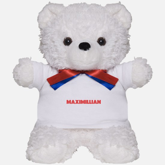 Retro Maximillian (Red) Teddy Bear