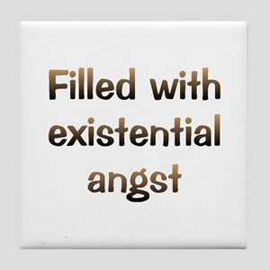 CW Existential Angst Tile Coaster