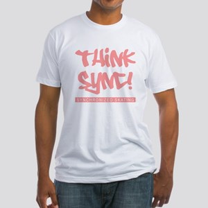 Think Sync! Fitted T-Shirt