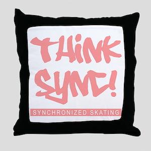 Think Sync! Throw Pillow