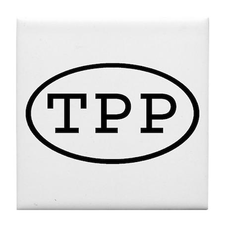 TPP Oval Tile Coaster