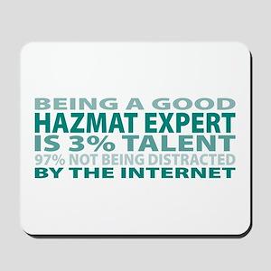 Good Hazmat Expert Mousepad